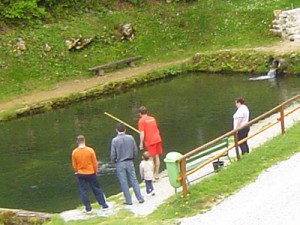 Ribnik za rekreativni ribolov